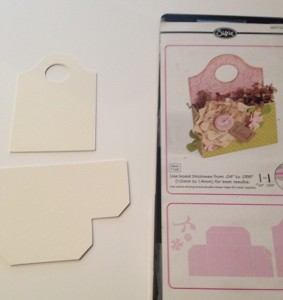Sizzix die cut and matboard