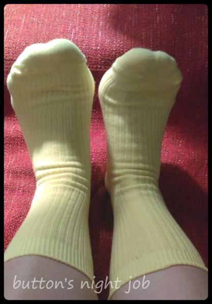 Yellow socks 1