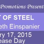 Heart of Steel: An excerpt + #giveaway from Elizabeth Einspanier