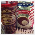 Photo of the Day: Last day of the #12daysswap – using the water bottle ASAP and peppermint cocoa for breakfast tomorrow!