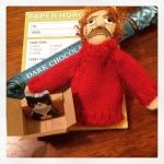 Photo of the Day: Kurt Vonnegut + cat mini notepad = explosive cuteness! #12daysswap