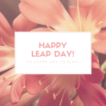 Happy Leap Day: Writing goals monthly update