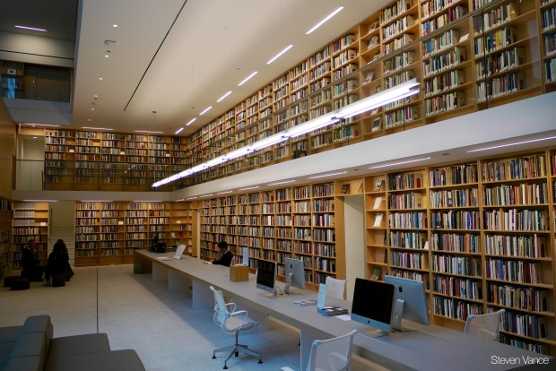 """Poetry Foundation Library"" image by Flickr user Steven Vance"