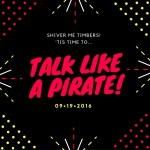 Talk Like A Pirate and win some booty! #giveaway