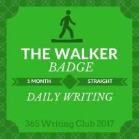 Walker-badge