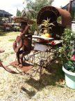 Metal guitarist and buggy