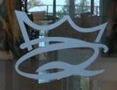 Znak hotela Queen
