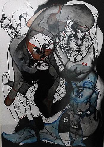 Gradska galerija Kotor - Izlozba slika Dijane Lazovic - 9