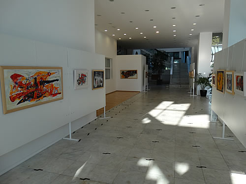 Izlozba Let u Upravnoj zgradi Porto Montenegro - 1