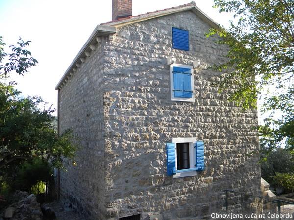 Obnovljena kuća na Čelobrdu