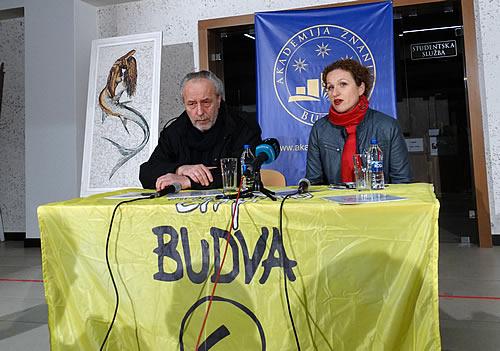 Miodrag Krivokapic i Milena Lubarda Marojevic