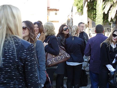 Posjetioci ispred crkve Santa Maria - 5