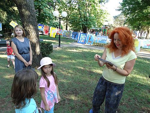 Gradski park - Izlozba djecijih radova - 8