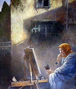 Becici - Izlozba slika Ljubomira Popadica - 5