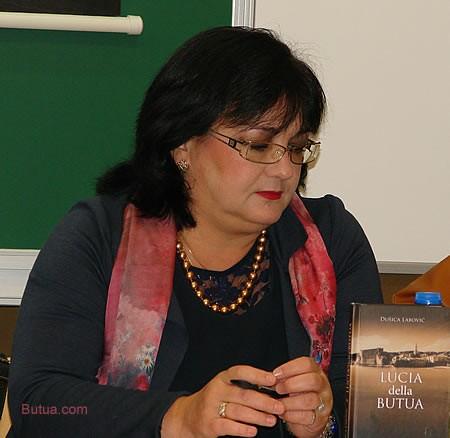 Promocija knjige Lucia della Butua - Lucia Djuraskovic