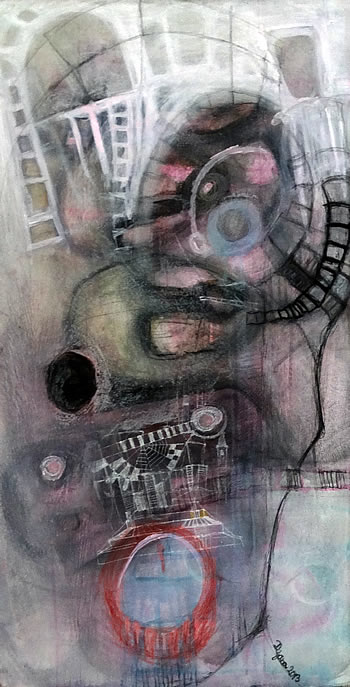 Podgorica - galerija Art - Izlozba Dijane Lazovic - 2