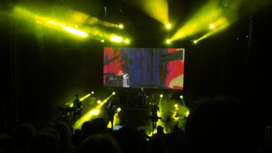 Grad teatar Budva - Koncert grupe Laibach - 3