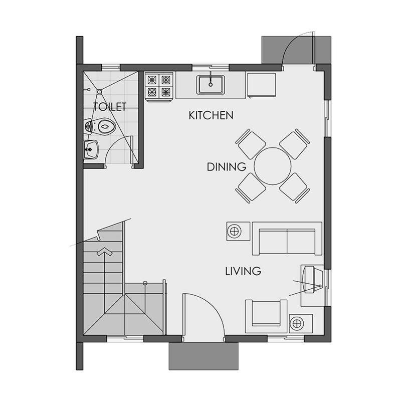 cara 1st floor plan