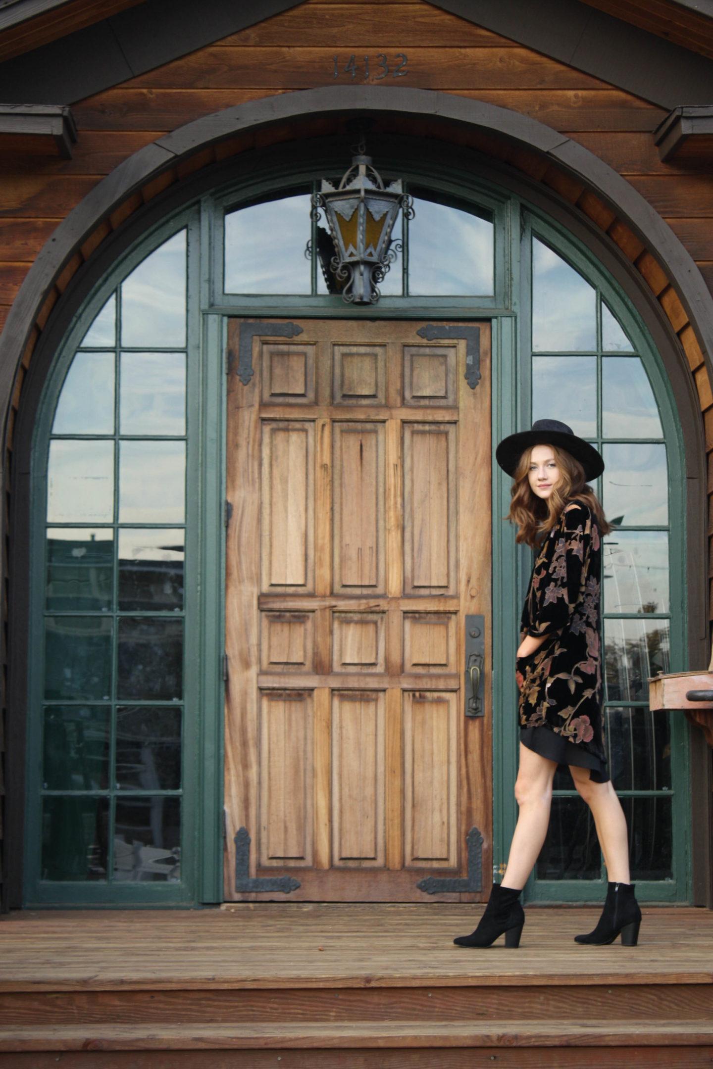 But what should i wear blog floral velvet outfit-3
