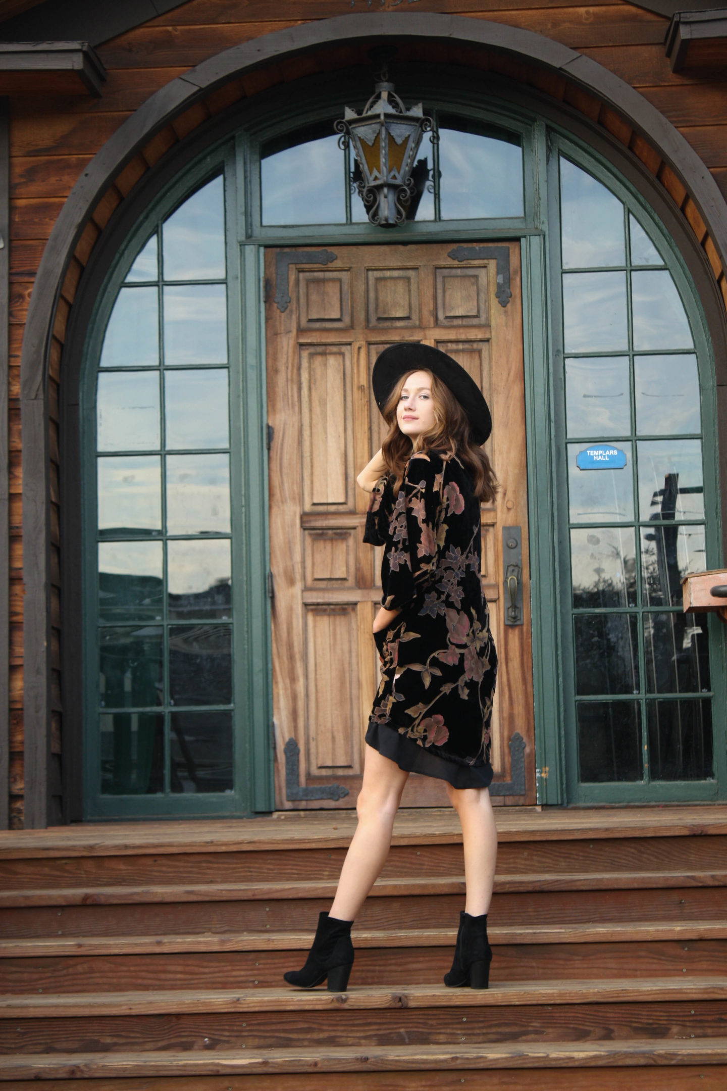 But what should i wear blog floral velvet outfit-4