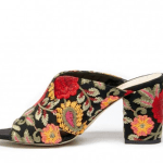 embroidered floral mule from solesociety