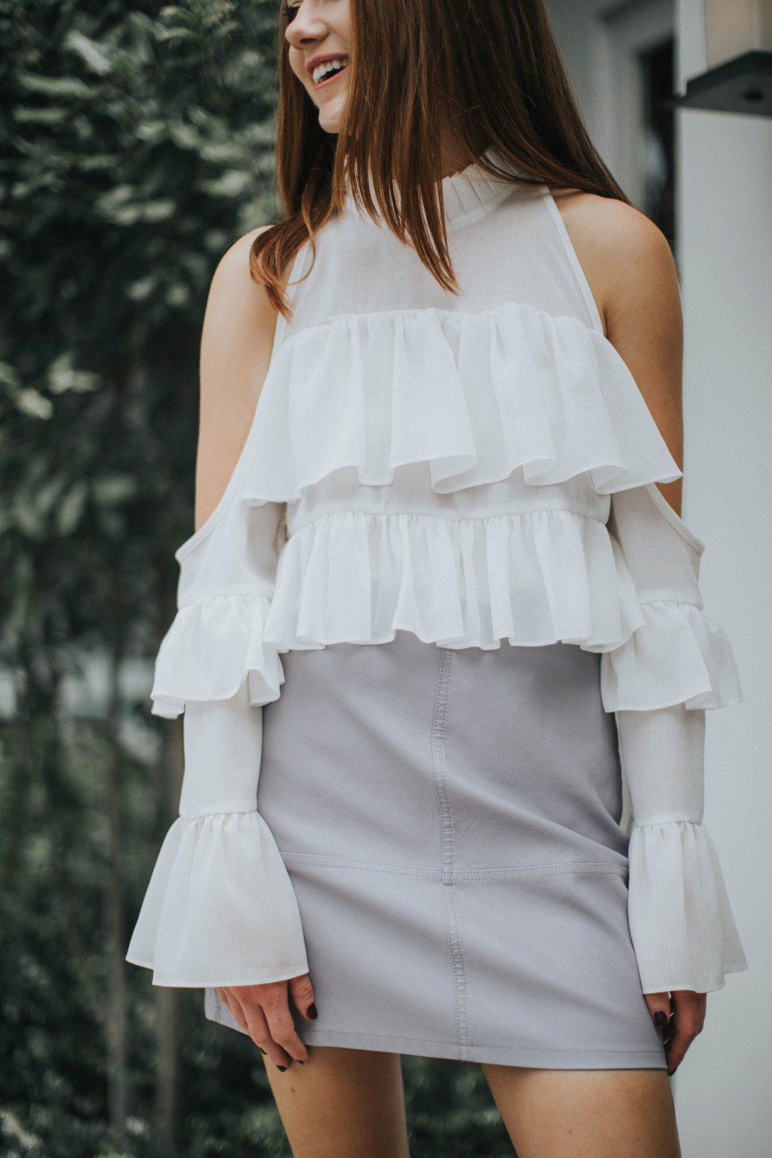 But What Should I Wear - ASOS ruffles could shoulder top