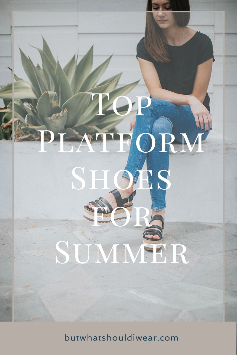 PInterest - Shop platform sandals for summer - but what should i wear 2