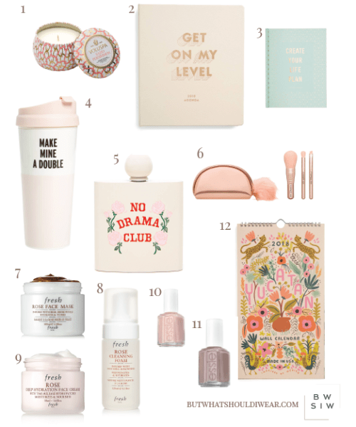 Holiday gift guide for her - stocking stuffers and gifts under $100