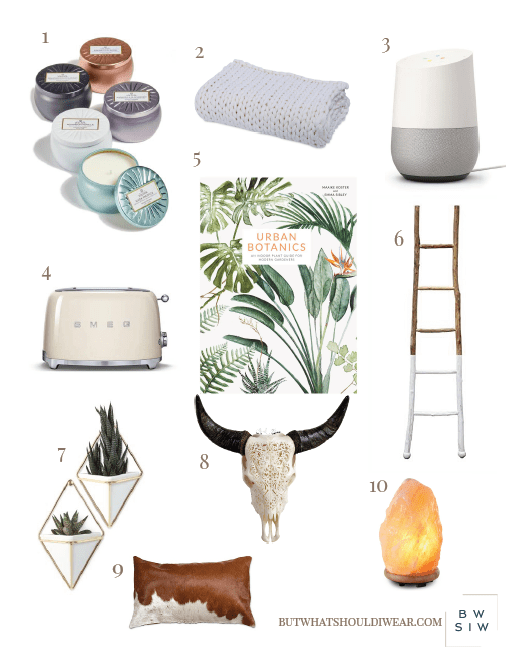 Gift Guide Home Decor But What Should I Wear