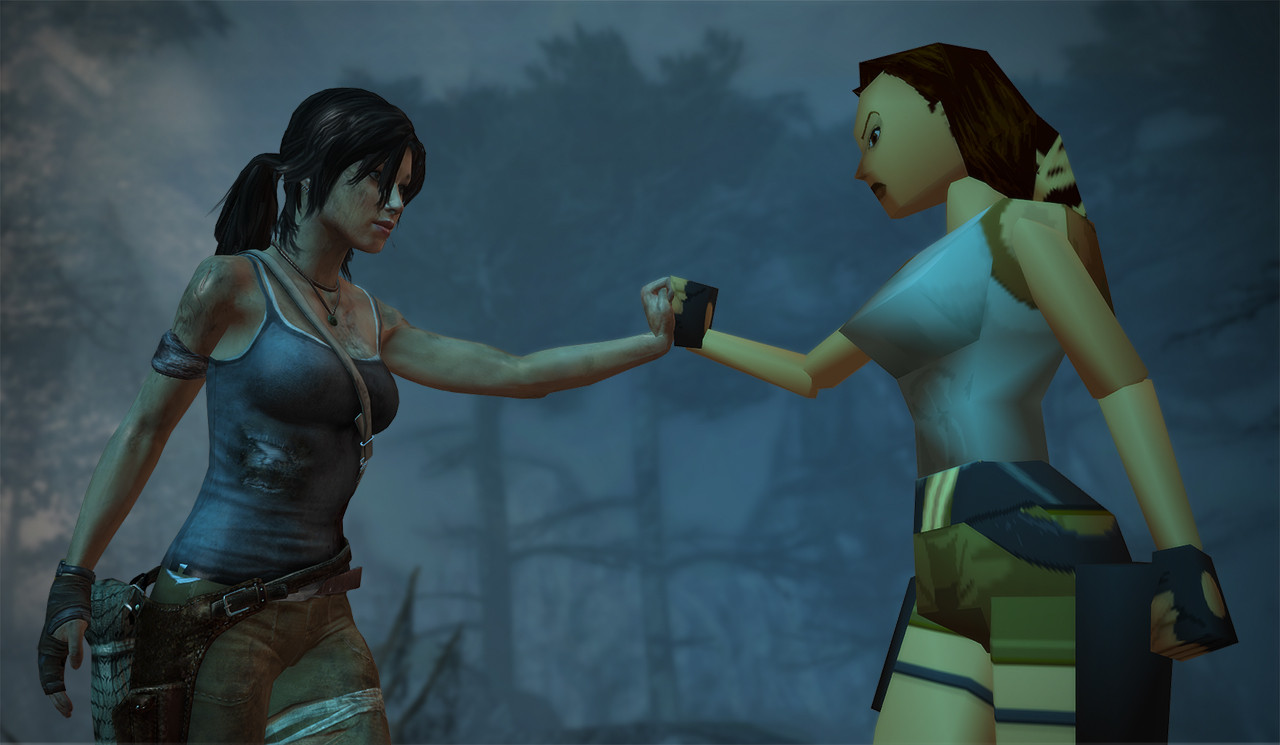A Journey Through Tomb Raider
