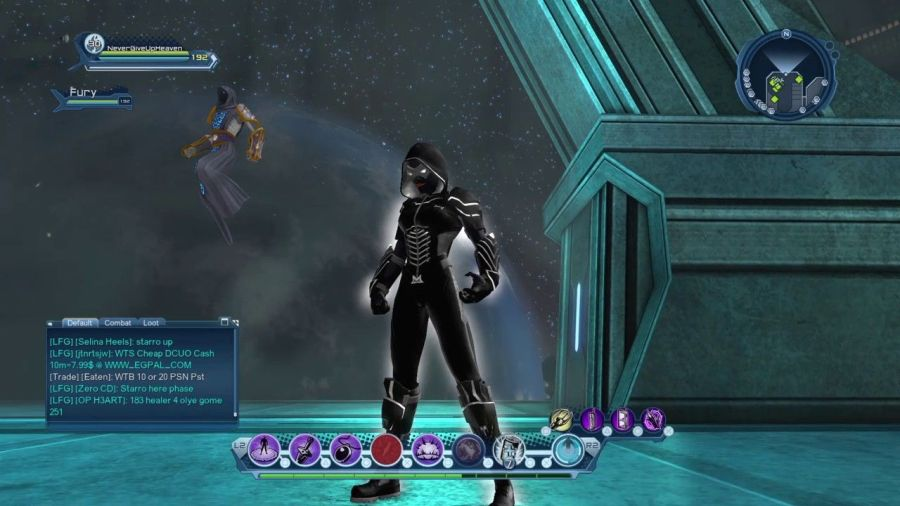 DC Universe Online Character