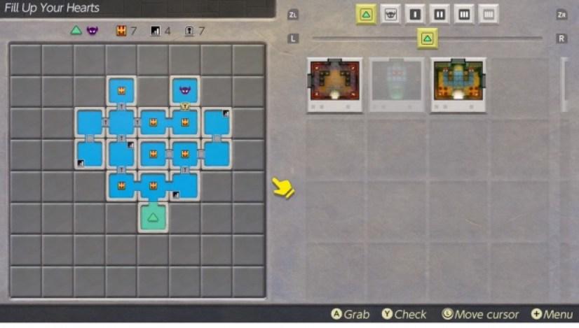 Zelda Dungeon maker Heart Chamber Challenge