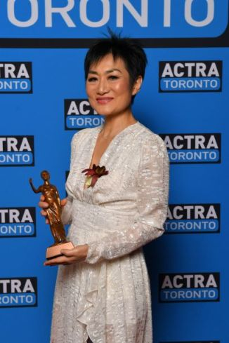 Actra Toronto Awards Carolyn Talks With Jean Yoon And Julie Limieux Jean yoon accepts actra toronto's award of excellence at the 2020 actra awards in toronto. actra toronto awards carolyn talks