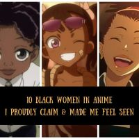 10 Black Women in Anime That Made Me Feel Seen