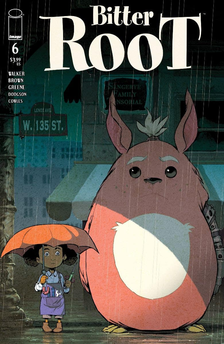 Sanford Greene Bitter Root #6 Cover