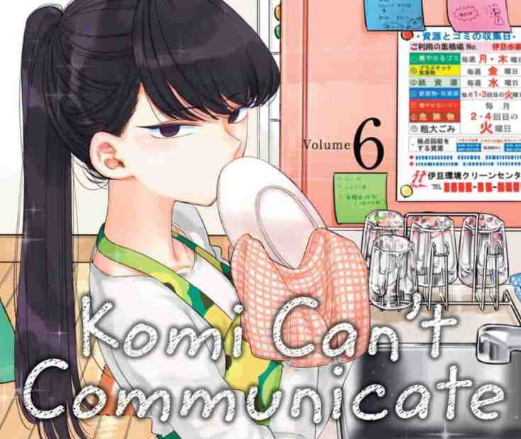 Komi Can't Communicate Volume 6 Cover