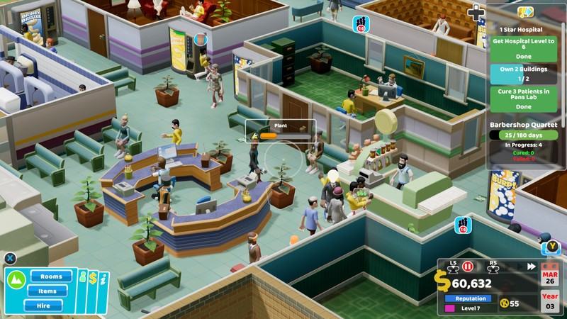 Two Point Hospital Pandemic Related Games