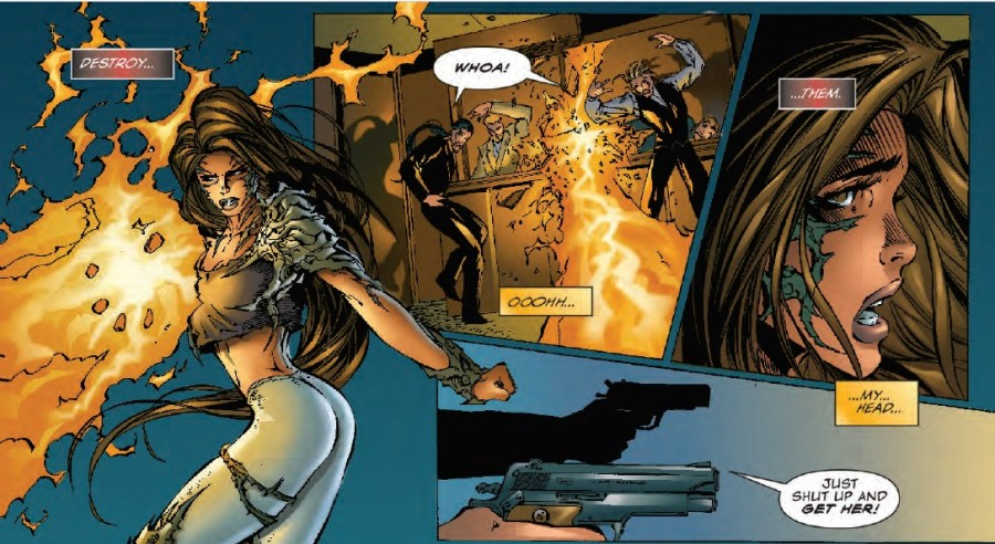 Witchblade collection panel