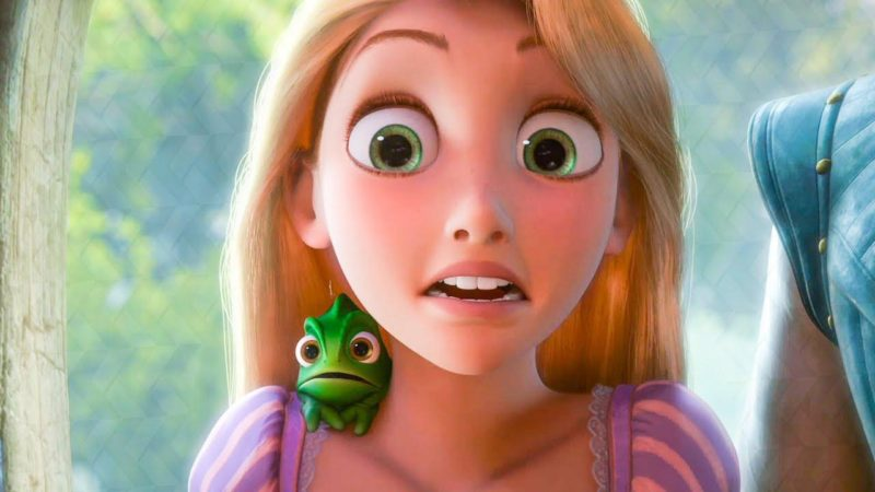 Rapunzel from Tangled - social distancing