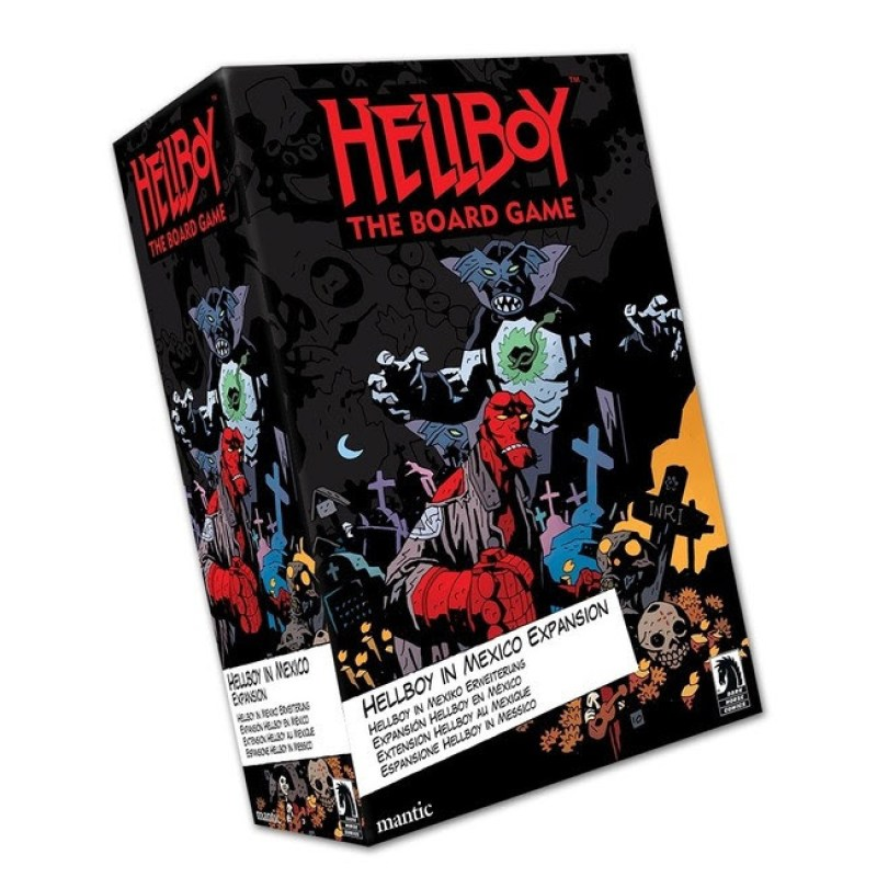 Limited-edition Hellboy in Mexico Expansion for Hellboy: the Board Game
