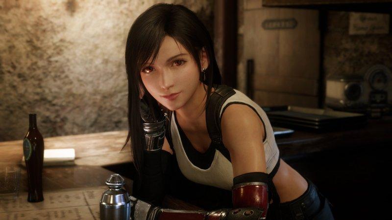 Tifa Final Fantasy Remake