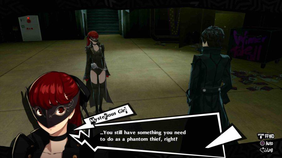 Kasumi in Persona 5 Royal