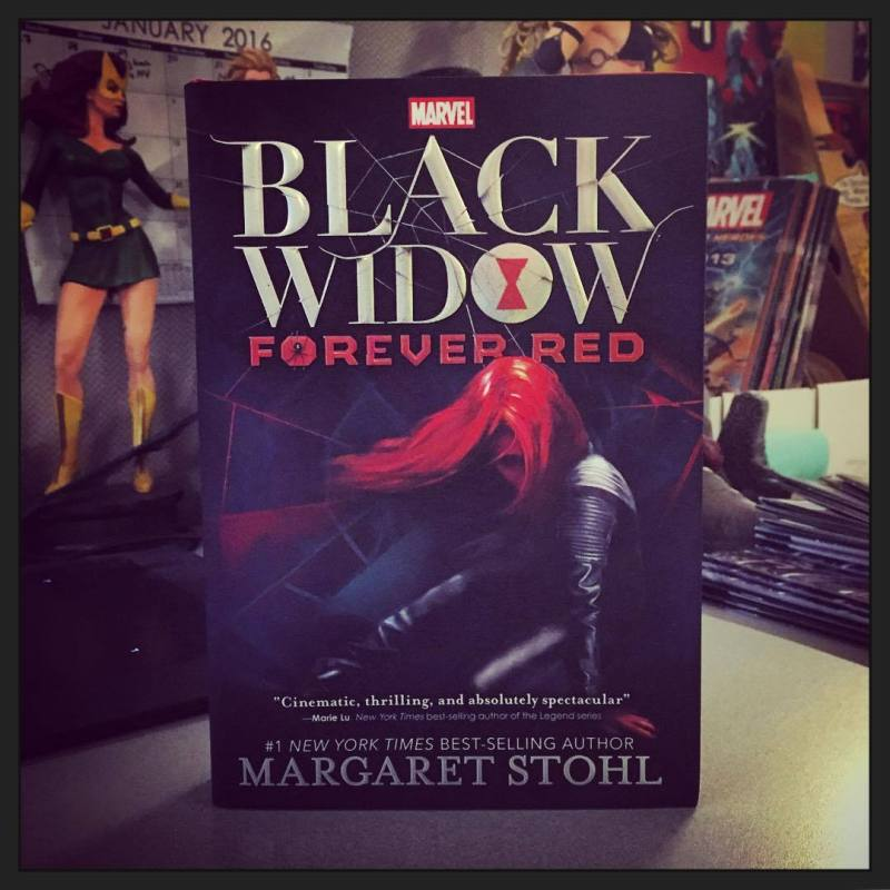 Black Widow: Forever Red Superhero YA novels