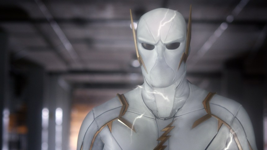 """The deadly speedster 'Godspeed' (Voiced by BD Wong) in """"Pay the Piper."""""""