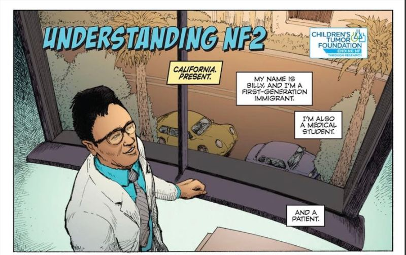 The Children's Tumor Foundation Debuts Comic For Neurofibromatosis Awareness Month
