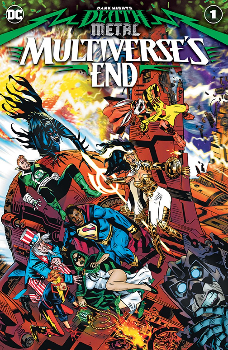 Death Metal: Death Metal: Multiverse's End #1,