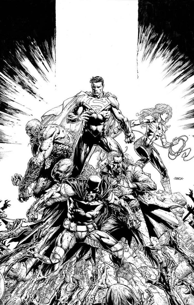 DCeased: Dead Planet #1
