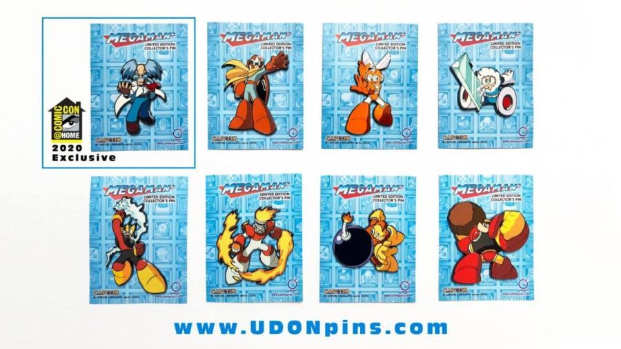 UDON Mega Man Robot Master Series