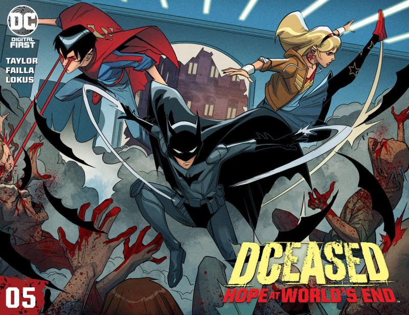 DCeased: Hope At World's End Chapter Five