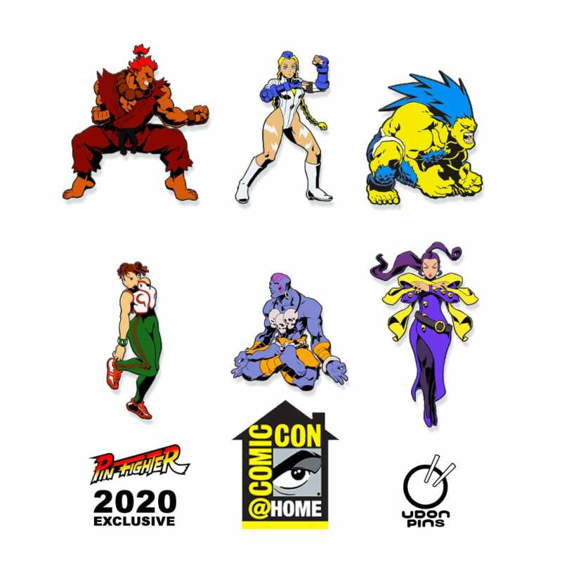 UDON Street Fighter - Pin Fighter Series